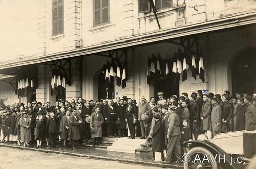 AP1554-Sogny-Marien - Huế, 1925 – Toàn quyền Varenne đến Ga Huế (1)