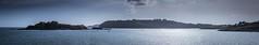 Plymouth Sound, panorama (pgosling1979) Tags: plymouth sound panorama devon sea drakes island water