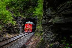 Q693 through the loops (Matthew DeLanghe) Tags: carolina crr csx northcarolina nc mountains train trees