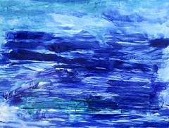 Sailing SF Bay / Beautiful Day (Suz .. Abstract Art) Tags: abstract art sea blue sapphire acrylic painting water beautiful mixedmedia canvas contemporary color fresh diamond expressive love modern watercolor paint white joy oil happiness