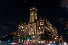 Old Post Office. (edwarddwood) Tags: washington dc night monuments sony a7r3 lights national mall building architecture oldpostoffice pennsylvaniaavenuedowntownfederal triangle
