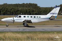 VH-VEY CESSNA 441 CORPORATE AIR (QFA744) Tags: vhvey cessna 441 corporate air