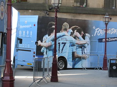 The Bus Business LX03ORW 20052019a (Rossendalian2013) Tags: manchestercityfootballclub parade manchester thebusbusiness fourmidables opentop transbus trident alx400 lx03orw stagecoacheastlondon