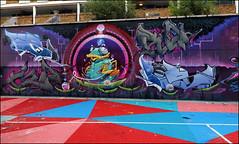 Driper / Goro / Onion (Alex Ellison) Tags: stockwall halloffame hof southlondon urban graffiti graff boobs driper goro onion