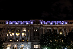 City Hall (edwarddwood) Tags: washington dc night monuments sony a7r3 lights national mall building architecture downtown federaltriangle purple pennsylvaniaave cityhall