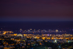 good night (harakis picture) Tags: cannes nightscape blue sony a7