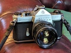 Asahi Pentax Spotmatic c1965 (nickant44) Tags: asahi pentax spotmatic takumar 35mm slr analog film camera vintage retro 50mm lens nokia australia