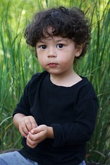 Mom....hurry (Tamantha29) Tags: cutebaby baby fallpictures curlyhair biracial boys toddler