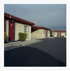 Five motel rooms (ADMurr) Tags: california desert motel twentynine palms el rancho dolores hasselblad 500cm kodak ektar zeiss 50mm distagon dba681 mf 6x6