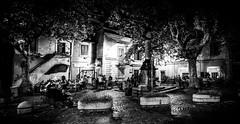 Frascati Square (yorgasor) Tags: voigtlander nokton f12 sony a7r2 a7rii italy frascati night