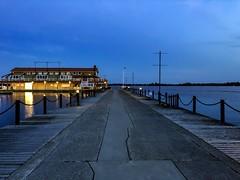 Quinte Bay, Belleville Ontario, Canada (denis.gorcovenco) Tags: canada fisher night taverna pierce bridge boats bay water lake river