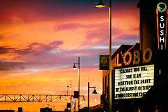 Albuquerque Sunsets (Thomas Hawk) Tags: albuquerque america lobo lobotheater newmexico route66 usa unitedstates unitedstatesofamerica neon sunset theater fav10 fav25