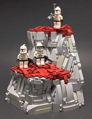 Reconnaissance Party (Nolverine .) Tags: lego star wars clone landscape alien