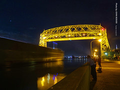 Ship sailing into Duluth at Night, 16 July 2019 (photography.by.ROEVER) Tags: minnesota 2019 july july2019 vacation roadtrip 2019vacation 2019roadtrip minnesota2019roadtrip minnesota2019vacation duluth stlouiscounty lake water vessel ship indianaharbor duluthentry aerialliftbridge bridge liftbridge lakesuperior duluthharbor pier duluthshippingpier northpier canalpark evening night nightphoto nightphotography nightphotograph beforemidnight summer summer2019 usa