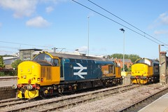 37424 + 37402 at Norwich 17/08/19. (chrisrowe37419) Tags: