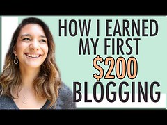 Erving Croxen: MAKE MONEY BLOGGING | HOW I EARNED MY FIRST $200 BLOGGING (TheBroadcastin7) Tags: ifttt blogger