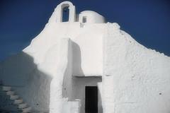 Small church in Mykonos island (ceca67) Tags: church white architecture mykonos greece light local svetlanapericphotography