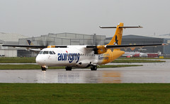G-LERE (PrestwickAirportPhotography) Tags: egcc manchester airport aurigny atr72 glere