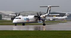 G-ECOJ (PrestwickAirportPhotography) Tags: egcc manchester airport flybe bombardier dash 8 gecoj