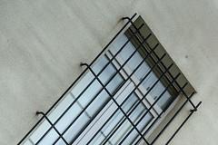 Half window (jefvandenhoute) Tags: belgium belgië brussels brussel light geometric shapes wall windows