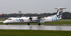 G-ECOR (PrestwickAirportPhotography) Tags: egcc manchester airport flybe bombardier dash 8 gecor