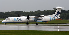 G-ECOA (PrestwickAirportPhotography) Tags: egcc manchester airport bombardier dash 8 gecoa flybe