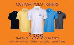 Custom Clothing Services : Polo T-shirts, Hoodies, Sleeveless Jackets, Shirts, Jackets (printstreet.in) Tags: customtshirts customclothings corporate gifts