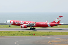 Thai Air Asia X A330-300 HS-XTF departing NGO/RJGG (Jaws300) Tags: nagoyachubucentrairairport chubucentrairairport chubucentrair centrairairport airasia canon5d lowcost lowcostcarrier rollsroyce lcc airbus a330 a333 a330300 low cost carrier express wing expresswing tax xj rr trent 772b rolls royce rrtrent trent700 rrtrent700 runway 18 asia japan nagoya chubu centrair ngo rjgg canon 5d airways international airport air airlines ramp apron stand terminal gate observation deck eos thai x hsxtf thaiairasiax departing thaiairasia airasiax red redbus rotation rotating