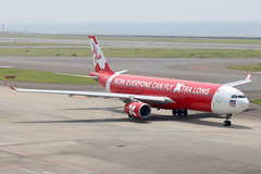 Thai Air Asia X A330-300 HS-XTF departing NGO/RJGG (Jaws300) Tags: nagoyachubucentrairairport chubucentrairairport chubucentrair centrairairport airasia canon5d lowcost lowcostcarrier rollsroyce lcc airbus a330 a333 a330300 low cost carrier express wing expresswing tax xj rr trent 772b rolls royce rrtrent trent700 rrtrent700 runway 18 asia japan nagoya chubu centrair ngo rjgg canon 5d airways international airport air airlines ramp apron stand terminal gate observation deck eos thai x hsxtf thaiairasiax departing thaiairasia airasiax red redbus