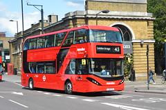 LJ19 CVC (BDE2629) Metroline London (hotspur_star) Tags: londontransport londonbuses londonbus londonbuses2019 alexanderdennisltd enviro400 tfl transportforlondon electricbus busscene2019 doubledeck metrolinelondon lj19cvc bde2629 43