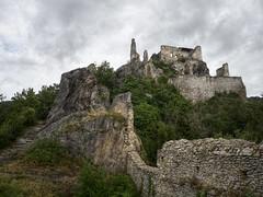 lionhearts prison (koaxial) Tags: f7135964p4ma koaxial castle burg dürnstein ruin cloudy architecture historic austria österreich wachau lionheart löwenherz king prison