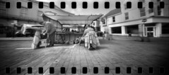 2409 Slow Day. (Monobod 1) Tags: ondu 135 panoramic ilford fp4 kodak hc110 pinhole lensless epsonv800