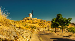 Consuegra / Spain 2016 (zilverbat.) Tags: spanje tripadvisor travel trip trees rondreis road zilverbat landscape image visit mill molendatabase molen cinematic cinema consuegra spain 2016 lamancha agfa europe world wallpaper ngc outdoor sun journey postcard desktop print pin summer