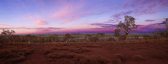 Sunrise over Karijini