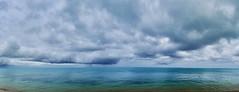 Lagon (Faapuroa) Tags: australes iles island pacifique pacific tubuai bleu blue sky cloud ciel nuage mer ocean coolpix nikon p1000 moana plage beach eau water sea