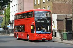 YJ19 HVD (OME2653) Metroline London (hotspur_star) Tags: londontransport londonbuses londonbus londonbuses2019 optaremetrodecker tfl transportforlondon electricbus busscene2019 doubledeck metrolinelondon yj19hvd ome2653 134
