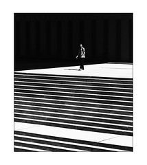 la personne la plus dangereuse de la ville la plus dangereuse (Armin Fuchs) Tags: arminfuchs lavillelaplusdangereuse würzburg alterhafen stairs stairway diagonal thomaslistl lapersonnelaplusdangereusedelavillelaplusdangereuse 6x7