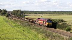 28/09/2008 - Gateforth, North Yorkshire. (53A Models) Tags: ews class60 60026 diesel fraight gateforth north yorkshire train railway locomotive railroad