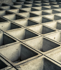 Concrete cubes (ainz1607) Tags: pattern cubes shades minimal minimalistic abstract lines squares bw grey simple check chequer chequered