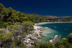 Agii Anargiri (klepher) Tags: agii anargiri beach greece greek travel sea color blue tree summer view photo boat spetses plage playa lovely calm peacefull