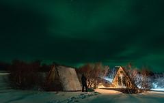 Green Iceland (jesuss8) Tags: islandia iceland europa europe nothernlight aurora boreal noche night verde naturaleza nature green sky