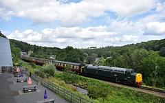 40106 (Chris Strange) Tags: svr severn valley railway train steam diesel heritage kidderminster highley arley bridgnorth bewdley class 40 40106 atlantic conveyor