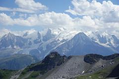 Mont Blanc @ Hike to Désert de Platé (*_*) Tags: 2019 summer ete august afternoon hiking randonnee nature montagne mountain circuit loop trail sentier walk marche limestone calcaire lapiaz pavement desertdeplate giffre faucigny flaine france europe alps hautesavoie 74 savoie