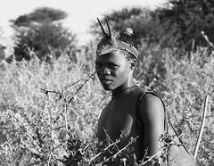 Bushman - Central Kalahari - Botswana (lotusblancphotography) Tags: africa afrique botswana centralkalahari travel voyage people gens bushmen portraits bw monochrome
