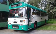 RWU 534R - West Yorkshire PTE (Halifax) 8534 - Leyland Leopard PSU4D / Plaxton Derwent DP43F. New 1976 (Belmont_21988uk) Tags: leeds thwaitemills runningday rwu534r westyorkshirepte leyland leopard plaxton derwent halifax 8534