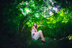 Portraits #490 (TAKUMA KIMURA) Tags: photones ricoh pentax kp takuma kimura 木村琢磨 木村 琢磨 風景 景色 自然 人物 女性 少女 女 ポートレート landscape nature woman lady girl japanese 日本人 wood forest 森 森林 portrait