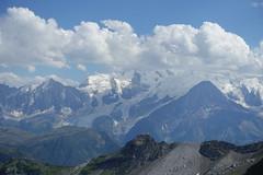 Mont Blanc @ Hike to Désert de Platé