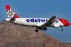 HB-JJK_04 (GH@BHD) Tags: hbjjk airbus a320214 edw edelweissair arrecifeairport lanzarote a320 a320200 ace gcrr arrecife