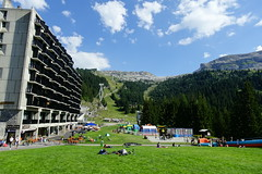Flaine Forum @ Resort @ Flaine @ Hike to Désert de Platé (*_*) Tags: 2019 summer ete august afternoon hiking europe france hautesavoie 74 savoie loop circuit mountain montagne nature randonnee trail sentier walk marche giffre désertdeplaté flaine skiresort stationdeski art architecture brutalism concrete faucigny marcel breuer