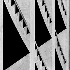 Concrete Shadows (2n2907) Tags: triangles triangular concrete abstraction abstract architecture shadow shapes shadows contrast contrasty bold blackwhite minimal minimalistic geometry geometric graphic